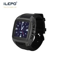 Wholesale Smart Buy Wholesale - Mobile android watch phones buy online Dual core IPS touch screen long standby time smart system watch with google APPS