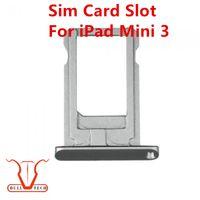 Wholesale Ipad Mini Reader - Original Sim Card Reader Tray Slot Holder Repair Part Replacement For iPad Mini 3 Black Gold White Colour DHL Free Shipping