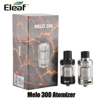 Wholesale Es Top - 100% Orignal Eleaf Melo 300 Atomizer 3.5 6.5ml Retractable Top Filling Tank With ES Sextuple 0.17ohm Head