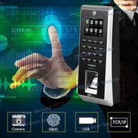 Wholesale Fingerprint Machines - Newest Hardware Platform ZMM220 ZKTeco F21 SilkID Sensor Fingerprint Reader with Camera Biometrics Fingerprint Machine 3000Users
