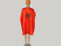Wholesale Cartoon Hero Costumes - Big kids Adult Costumes & Cosplay superhero cape customize logo-super hero 110*70cm Double layer Adult cape 15 styles
