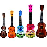 Wholesale Dream Puzzles - Children guitar can play musical instruments dream wood grain puzzle simulation steel string Youkeli early education toys
