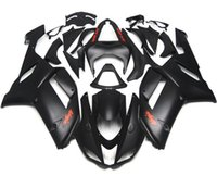 Wholesale New ABS Plastic Motorcycle bike Fairing Kits Fit For kawasaki Ninja ZX6R ZX R R Bodywork set Nice color matt black red