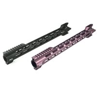 Wholesale New Style CNC Aluminum Lightweight inch inch Free Float Handguard Rail system for airsoft AEG hunting Accessories