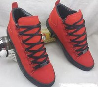 Wholesale free delivery shoes - 2017 new Wholesale Free Worldwide Delivery Mens sneakers High top Quality Popular Stylish Arena Luxury Brand Flats Shoes