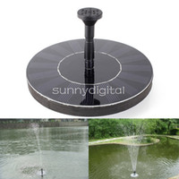 Wholesale 1 W V High Power Solar Floating Fountain Garden Plants Watering Power Fountain Pool For Family Plants Top Quality