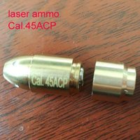Wholesale Bullet Laser - 45ACP(Light Pulse 50MS) Laser Ammo,Laser Bullet, Laser Cartridge for Dry Fire training and shooting simulation