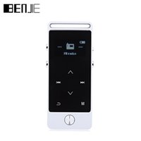 Wholesale Flac High Quality Mp3 - Wholesale- BENJIE S5 MP3 Player 8GB Touch Screen APE FLAC WAV High Sound Quality Entry-level Lossless Music Player with FM Radio Recorder