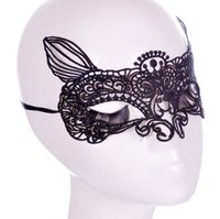 Wholesale Sexy Taste - fashion club bar taste lace fox mask, hollow,diamond 5028 Sexy lace mask, Easter party,Half Mask For Women Mask,nightclub dance Women Mask