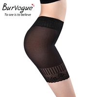 Wholesale High Waist Pant Body Shaper - Burvogue Women High Waist Body Shaper Panties Seamless Corset Waist Slimming Pants Underwear Waist Trainer Corset