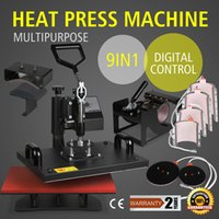TRANSFERT DE PRESSE THERMIQUE 9IN1 T-SHIRT MULTIFONCTIONNEL MACHINE D'IMPRESSION MINUTERIE SUBLIMATION TIMER 15