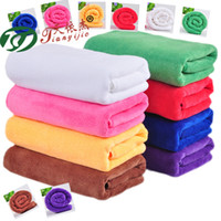 Wholesale Thick Soft Face Towel - Home towel bathroom beach towel soft thick ultra-fine fiber multi-color optional outdoor portable towel M404
