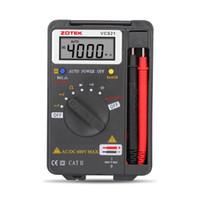 Wholesale Power Multimeter - ZOTEK VC921 AUTORANGING DIGITAL MULTIMETER Auto ranges MAX display 4000 counts Auto power off