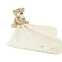 Wholesale Baby Bedding Comforters - Wholesale- Wholesale 10pcs lot Baby Comforter Toy Cartoon Animal bed time bear Soft Plush toys Multifunctional Baby Care