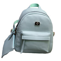 spanish plain - Spanish Brand Design Pu Women Leather Backpacks School Bag Student Backpack Ladies Women Bags Leather Package Female XA885B