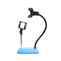 Wholesale Universal Studio Microphone Mic Desk Desktop Stand Adapter with Clip Finefun Mobile Phone Live Holder Bracket Flexible Mount