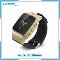 Wholesale Wifi Smart Watches - 2016 WristWatch D99 Elder GPS WIFI Smart Watch With SIM Phone SOS Call Smartwatch For Apple iPhone Samsung Android Smartphone