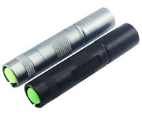 Wholesale Highlight Torch - Rechargeable LED Flashlight Torch Highlight Waterproof with 18650 Li-ion or AAA Adjustable zoom Flashlight Outdoor Lighting with 2colors