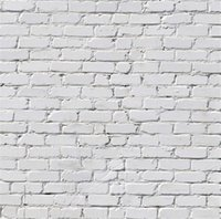 Wholesale Kids Wall Textures - White Brick Texture Wall Photography Backdrops Kids Children Studio Photo Shoot Background Baby Newborn Photoshoot Fabric Wallpaper
