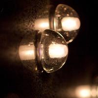 Wholesale Crystal Wall Lamp Chandelier - American brief magic ball crystal wall lamp led 3w meteor shower stair lamp aisle bedroom passageway hotel engineering fixtureAmerican brief