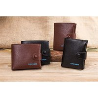 Wholesale Horizontal Genuine Leather Bags - Soft Cowhide Men Business Wallets Causal Genuine Leather Wallets Money Bag Card Holders Vertical Horizontal Wallets A341