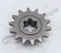 Wholesale Mini Moto Bikes - Wholesale- 14 14T Tooth Teeth 8MM T8F Front Sprocket 47CC 49CC Mini Moto Dirt Pit Bike Parts