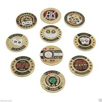 Wholesale Model Value - fashion design poker chip Material choose Different Values Poker coin free shipping Model 3