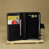 Wholesale Duos Wallet - Top quality PU leather case For Samsung Galaxy Win i8550 Duos I8552 8552 GT-i8552 i8558 Cover Skin Flip Phone Bag