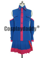 Wholesale Teto Cosplay - VOCALOID Teto Kasane Cosplay Costume customized any size