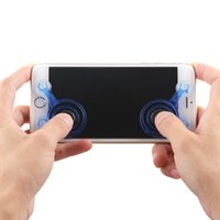 2017 Joysticks pc Spiel Mobile Joystick Telefon Mini Spiel Rocker Touchscreen Joypad Tablet Sucker Wireless Game Controller für iPad iPhone