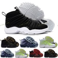 Hommes Zoom Cabos Chaussures de basket-ball, Air Zoom Cabos i version modernisée de Gary Payton, The Glove basket-ball, Discount pas cher Training Sport