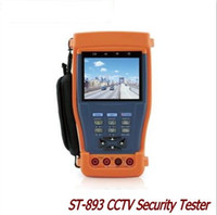 Wholesale Tester Multimeter Optical Power - ST893 894 895 896 CCTV Tester Monitor PTZ Audio UTP Test 12V 1A power output  Optical power meter Digital Multimeter ann