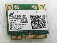 Wholesale Intel Wireless Pci - Wholesale- SSEA New Wireless card for Intel WiFi Link 5100 512AN_MMW Half MINI PCI-E Card 802.11a b g n 2.4 GHz  5.0 GHz 300Mbps