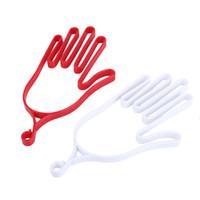 Wholesale Plastic Rack Gears - Wholesale- Sports Golfer Tool Gear Plastic Golf Gloves Holder Rack Dryer Hanger Stretcher