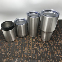 Wholesale Mugs Cover - 20th3 Silvery Stainless Steel Tumbler Snowman With Cover Mug Outdoor Sport Cup Thermal Insulation Water Bottle Cups Factory Direct Sales