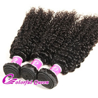 Wholesale Micro Braids Hair Extensions - Peruvian Curly Virgin Hair Extensions 3pcs 4pcs Peruvian Kinky Curly Human Hair Weave for Micro Braids Peruvian Virgin Hair Bundles 8-26Inch