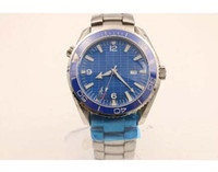 Wholesale Titanium Dress Watches - luxury brand watch men hand wind watch Skyfall titanium Planet Ocean James bond automatic movement watches men dress wristwatches G47
