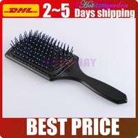 cuir chevelu brosse neuf achat en gros de-Promotion!!! Nouveau peigne de perte de massage massage Big Health Hair Brush Comb Home Spa Utilisez le peigne Scalp