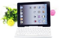 Wholesale Shipping Tablet Window - Universal Wireless Bluetooth Keyboard Support IOS Android And Windows Operating System Tablet With Holder DHL Free Shipping