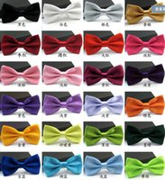 Wholesale Cheap Red Tuxedo - Cheap Men's Fashion Tuxedo Classic Colorful Butterfly Wedding Party Bow tie Groom Ties Bow Ties Men Vintage Wedding party pre-tie Bow tie