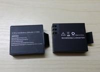 Wholesale W7 Battery - 3.7V Li-ion Battery 900mAh 3.33Wh suitable for SJCAM Gopro SJ4000 5000 6000 7000 8000 9000 W7 W8 W9 H9 sport camera
