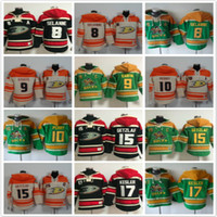 Wholesale Paul Hoodies - Anaheim Ducks hoodies 8 Teemu Selanne 9 Paul Kariya 10 Corey Perry 15 Ryan Getzlaf 17 Ice Hockey Hoody Sweatshirts Red Green Orange