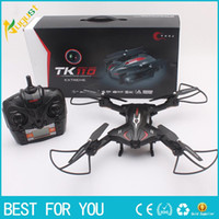 Wholesale High Definition Models - TK110HW 2.4G remote control aircraft charging helicopter high-definition aerial UAV control model helicopter rotor with LED light VR fuction