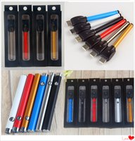 Wholesale Slim Automatic - Wholesale Open Vaporizer Automatic 280mAh 510 Thread Battery Bud Touch Slim Vape Batteries With USB Charger For CE3 Vaporizer Pen Cartridges