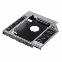 asus festplatten großhandel-12,7 mm SATA HDD SSD Festplatte Caddy optischer DVD-Schacht-Adapter für Asus K53SV VCQ06 P79