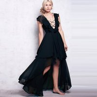 Wholesale Irregular Vest Dress - Sexy Plus Size Clothing Dresses for Womens Long Chiffon Agaric Edge Vest Cultivate One's Morality Pure Color Large Irregular Skirt