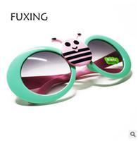 Wholesale Bee Resin - 2017 High Quality Boys Girls Brand Kids Little bee Sunglasses Children Glasses 100%UV Oculos De Sol Gafas