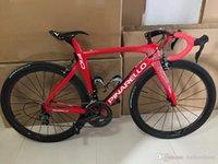 Wholesale Carbon Zipp - F10 Red Magma Carbon Road complete Bike Online 5800 r8000 Groupset + zipp 404 454 DIMPLE Carbon Wheelset