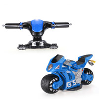 Atacado- TOYS A8 2.4GHz 1/8 4D Dynamic Gravity Sensor High Simulated Controller 180 Drifting RC Motorcycle