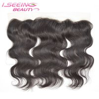 Wholesale Virgin Lace Closure 13x2 - Full Lace Front Closure 13x2 Ear to Ear 100% Unprocessed Virgin Human Hair Lace Closure Body Wave